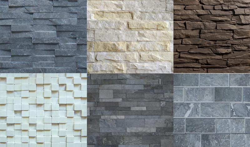 Ứng dụng của gạch men giả đá trong kiến trúc nhà