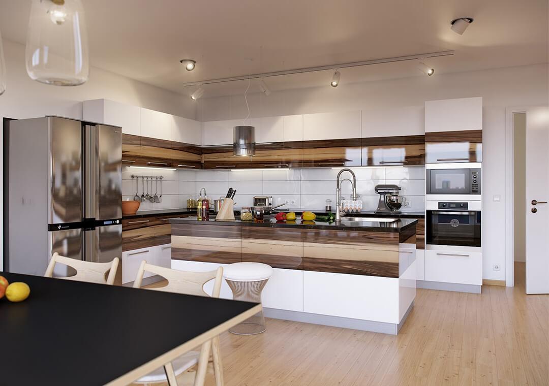 Nhà có 2 bếp có sao không?