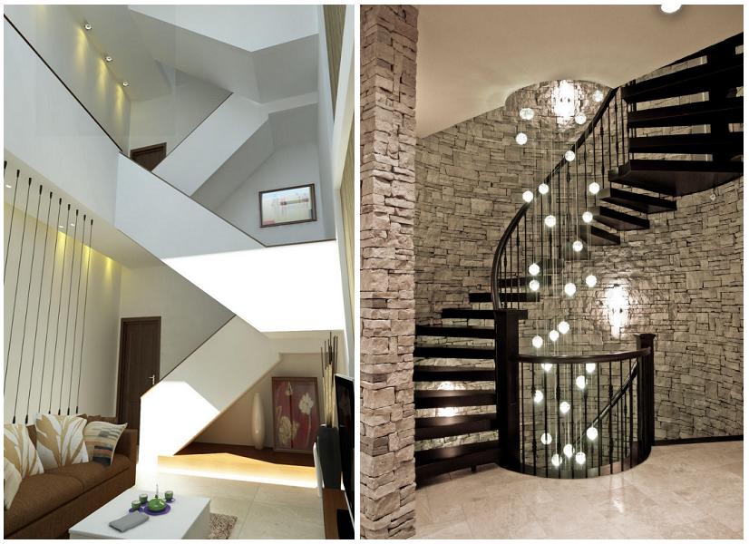 Thiết kế cầu thang hiện đại cho ngôi nhà đẹp