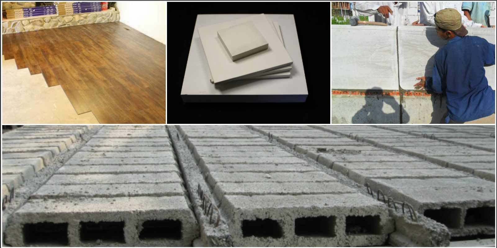 4 loại vật liệu xây dựng nhẹ phổ biến hiện nay