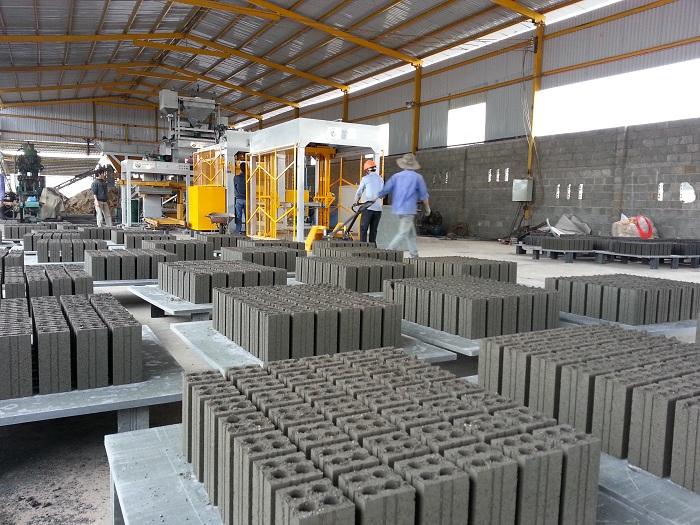 Công nghệ sản xuất gạch không nung siêu nhẹ
