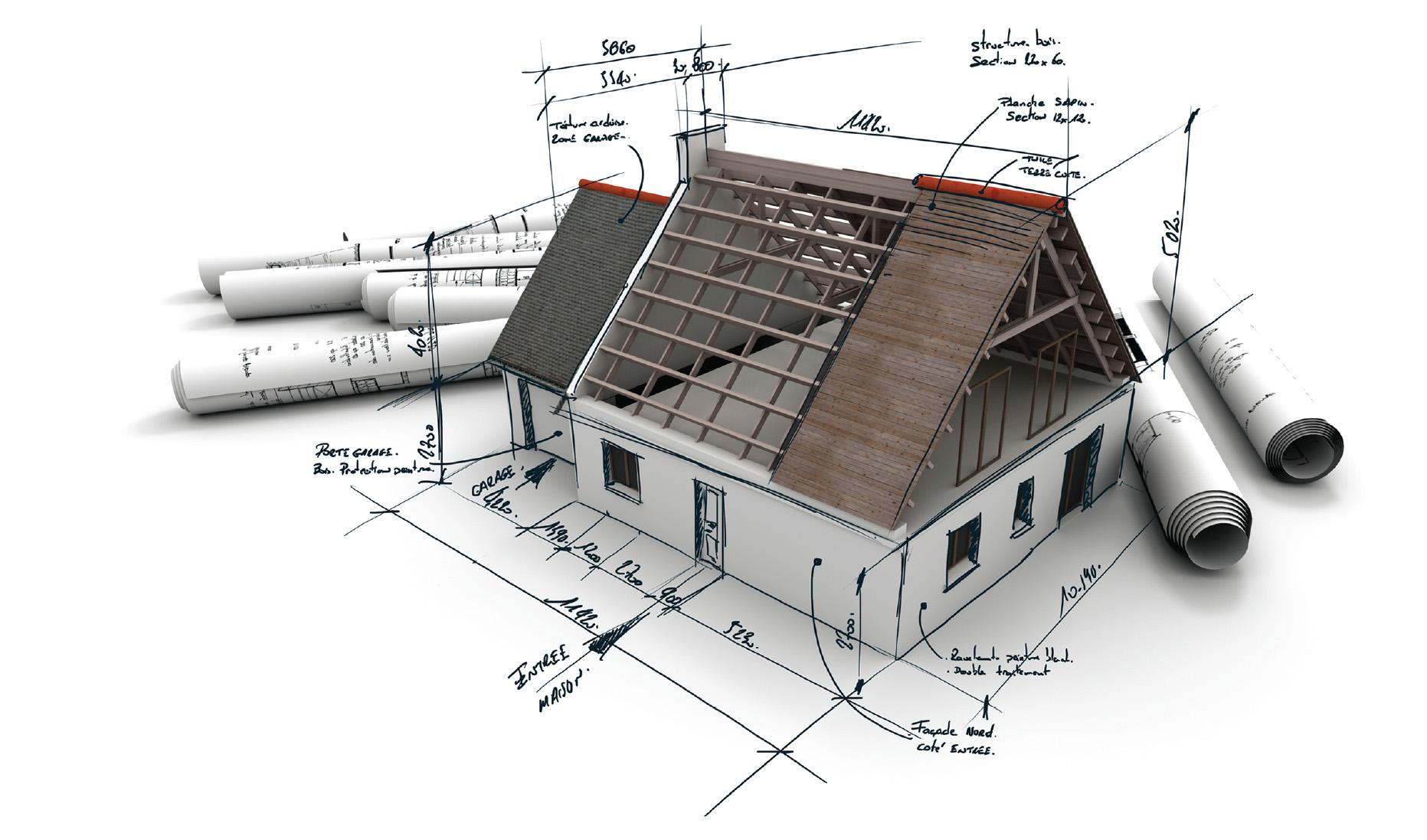 Hướng dẫn cách tính diện tích mái ngói đơn giản