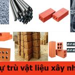 Những điều cần biết về dự trù vật liệu xây nhà