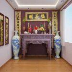 Vị trí đặt bàn thờ trong nhà ống đón Tài Lộc