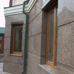 Đá hoa cương – Mẫu đá trang trí mặt tiền nhà hiện đại