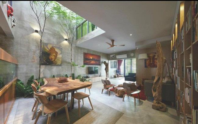 Có nên thiết kế giếng trời giữa nhà hay không?