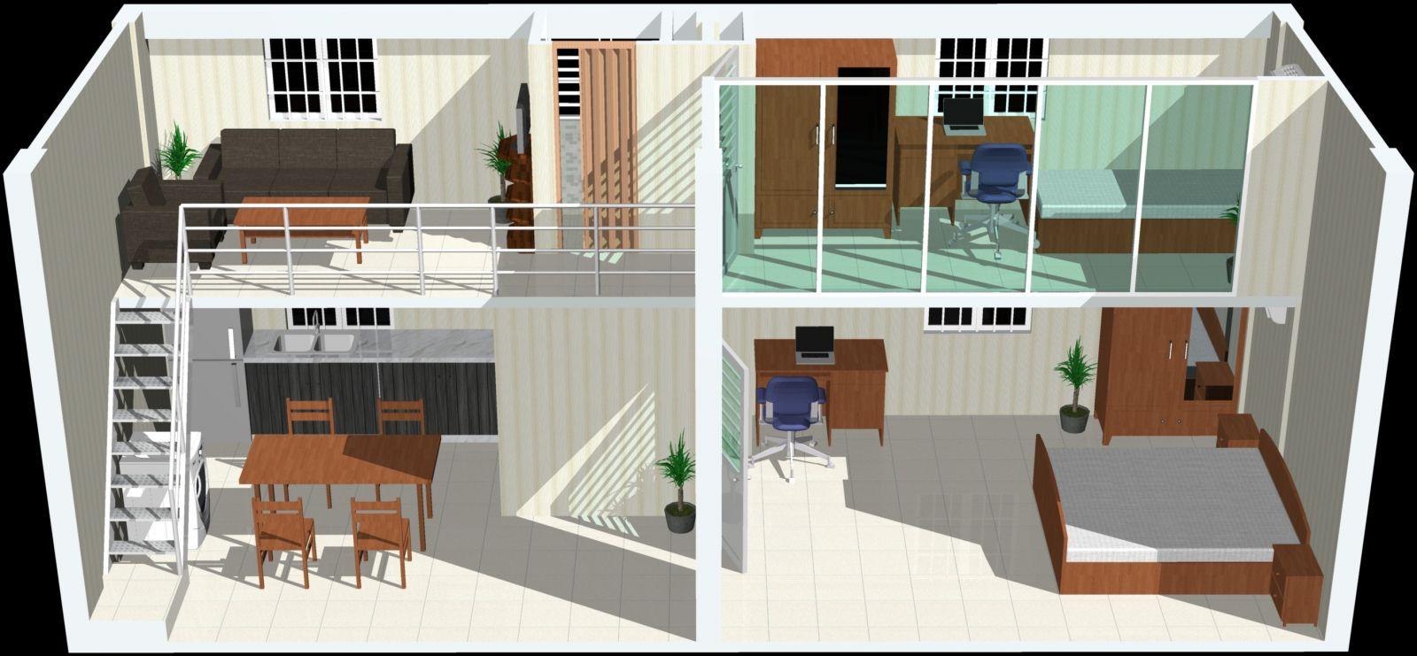 Thiết kế tầng lửng làm phòng khách cần lưu ý điều gì?