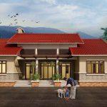 Thiết kế nhà ba gian truyền thống đem lại nét đẹp cổ xưa
