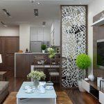 Các loại vách ngăn phòng khách và phòng ăn sử dụng nhiều nhất