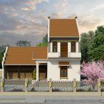 Xu hướng thiết kế mẫu nhà thờ kết hợp nhà ở ấm cúng