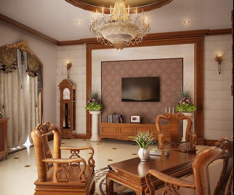 Hướng dẫn cách trang trí phòng khách bằng gỗ siêu đẹp