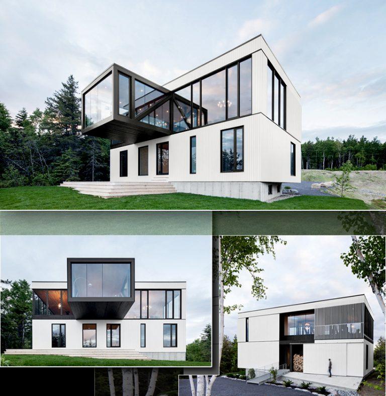 Nguyên tắc hình khối trong thiết kế không gian kiến trúc đẹp
