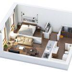 Hướng dẫn: Thiết kế nội thất nhà đẹp diện tích nhỏ 30m2