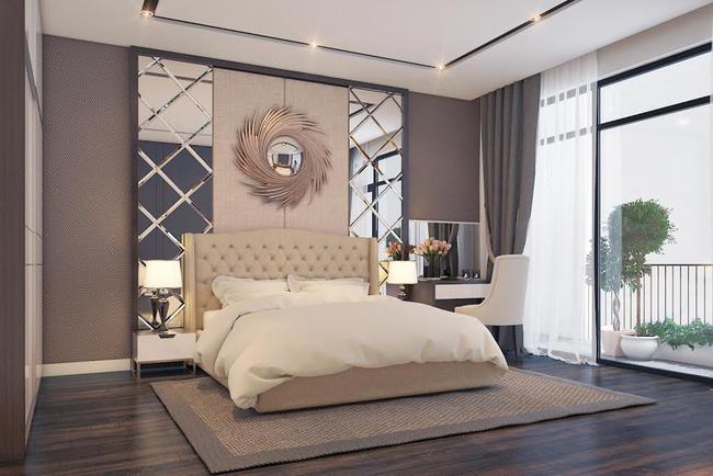 Tuyệt chiêu giữ lửa hạnh phúc khi thiết kế phòng ngủ đẹp cho vợ chồng