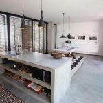 Có nên thiết kế tủ bếp bằng xi măng hay không?