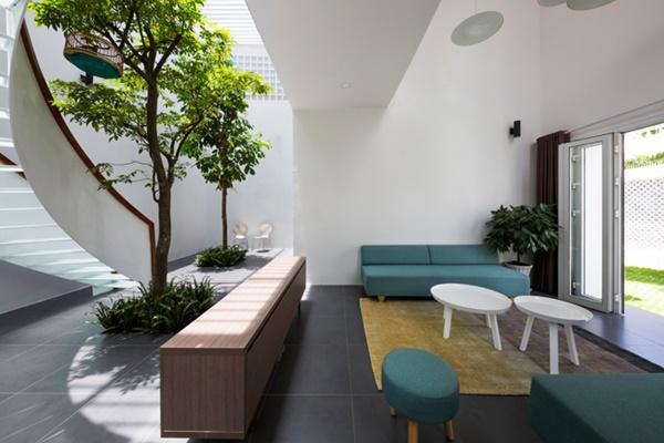 Cách khắc phục nắng nóng khi thiết kế nhà hướng Tây