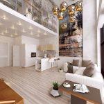 3 mẫu thiết kế phòng khách thông tầng phổ biến nhất