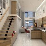Thiết kế cầu thang dọc nhà cần nắm bắt những nguyên tắc nào?