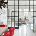Vách ngăn phòng khách bằng kính - Liệu có phải là giải pháp hoàn hảo?