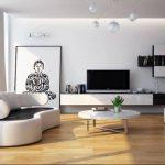 Xu hướng thiết kế phòng khách tối giản nhờ nội thất