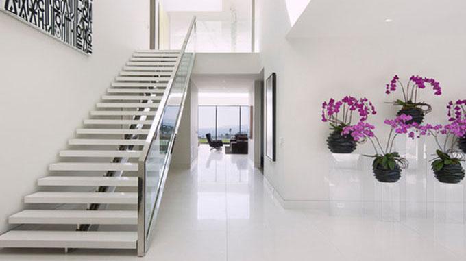 Nguyên tắc thiết kế cầu thang xương cá bằng bê tông
