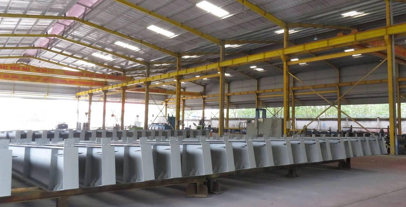 Quy trình gia công kết cấu thép nhà xưởng chuẩn