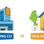 Giải đáp thắc mắc: Nên mua chung cư hay nhà riêng?