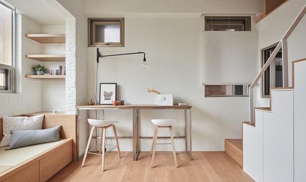 Xu hướng thiết kế thông minh nội thất nhà nhỏ hẹp