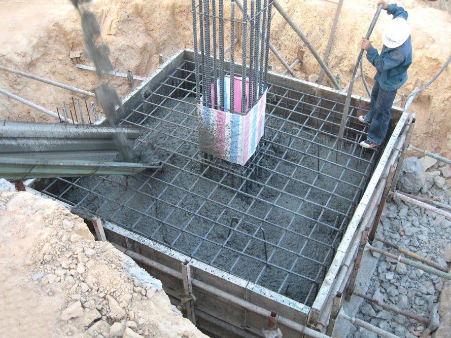 nhà thầu cần xử lý móng nhà trên nền đất yếu