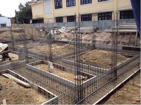 xây dựng xử lý móng nhà trên nền đất yếu