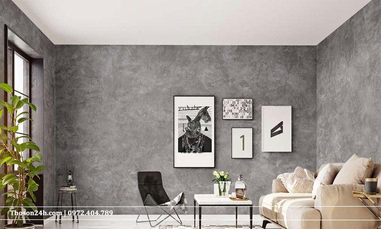 tường giả xi măng nghệ thuật
