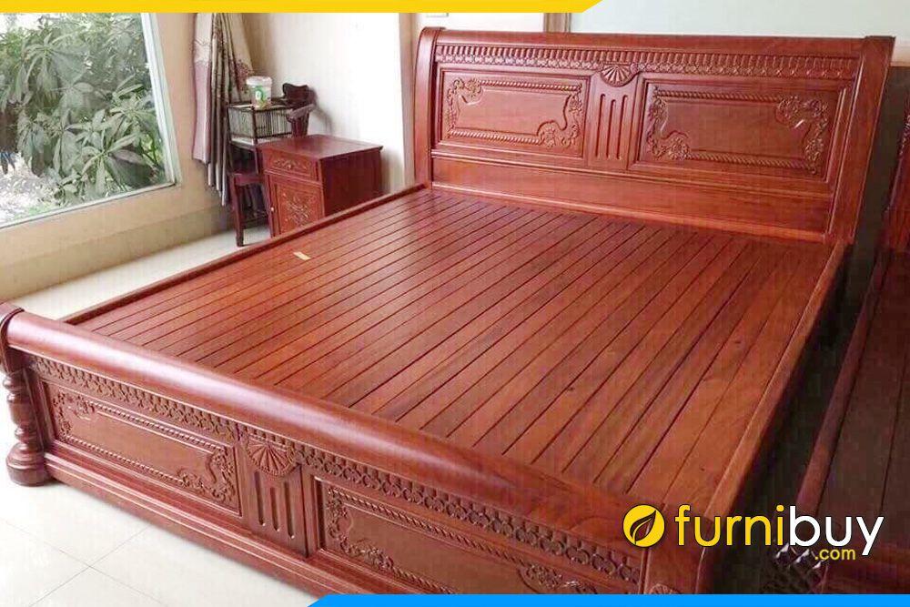 giường gỗ Lim 2